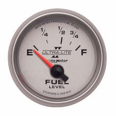 AutoMeter Products 4915 Electric Fuel Level Gauge 2 1/16 in. 73 Ohms Empty 10 Ohms