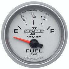 AutoMeter Products 4916 Electric Fuel Level Gauge 2 1/16 in. 240 Ohms Empty 33