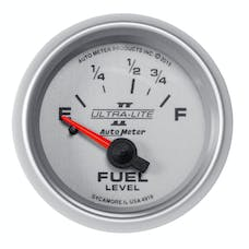 "AutoMeter Products 4918 Fuel Level Gauge 2 1/16"", 16E - 158F Electric Ultra-Lite II"