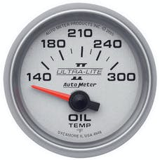 AutoMeter Products 4948 GAUGE; OIL TEMP; 2 1/16in.; 140-300deg.F; ELECTRIC; ULTRA-LITE II