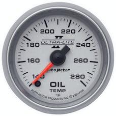 AutoMeter Products 4956 Gauge; Oil Temp; 2 1/16in.; 140-280deg.F; Digital Stepper Motor; Ultra-Lite II