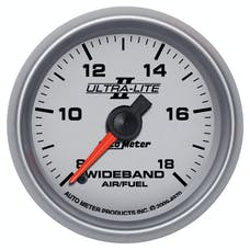 AutoMeter Products 4970 GAUGE; AIR/FUEL RATIO-WIDEBAND; ANALOG; 2 1/16in.; 8:1-18:1; STEPPER MOTOR; ULTR