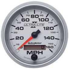 AutoMeter Products 4988 Gauge; Speedometer; 3 3/8in.; 160mph; Elec. Programmable; Ultra-Lite II