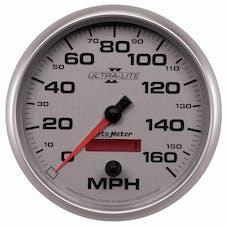 AutoMeter Products 4989 Gauge; Speedometer; 5in.; 160mph; Elec. Programmable; Ultra-Lite II