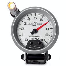 AutoMeter Products 4990 Gauge; Tachometer; 3 3/4in.; 10k RPM; Pedestal w/ext. Quick-Lite; Ultra-Lite II