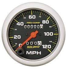 AutoMeter Products 5152 Speedo  120 mph