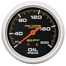 AutoMeter Products 5422 Oil Press  0-200 PSI