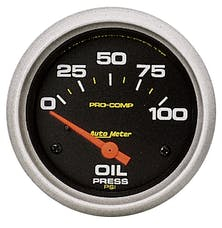 AutoMeter Products 5427 Oil Press  0-100 PSI