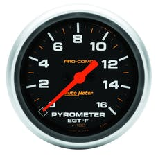 "AutoMeter Products 5444 2-5/8"" E.G.T. Pyrometer Kit, 0-1600`F, DSM, Pro-Comp"