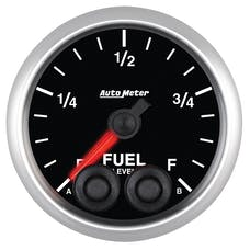 AutoMeter Products 5609 2-1/16in Programmable Fuel Level, Elite