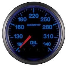 "AutoMeter Products 5640-05702 Guage, Oil Temp, 2 1/16"", 340Γö¼Γòæf, Stepper Motor"