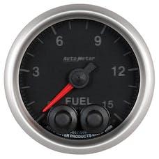 "AutoMeter Products 5667-05702ANS Gauge, Fuel Press, 2 1/16"", 15psi, Stepper Motor"