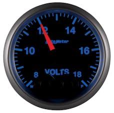 AutoMeter Products 5683-05702 GAUGE; VOLT; 2 1/16in.; 18V; DIGITAL STEPPER MEM/WARN; ELITE; W/O PRO-CTRL