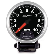 AutoMeter Products 5690 3-3/8in Mini Monster Tach 0-10,000 RPM Elite