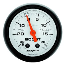 AutoMeter Products 5701 Boost/Vac  30 In. Hg/20 PSI