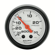 AutoMeter Products 5703 Boost/Vac  30 In. Hg/30 PSI