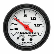 AutoMeter Products 5703-M Vac/Boost 60cm.Hg-2.0 Bars (2-1/16in)