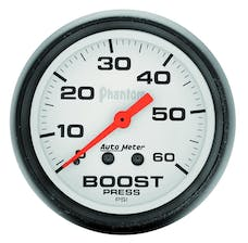 AutoMeter Products 5705 Boost  0-60 PSI