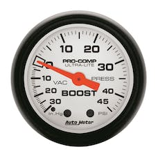AutoMeter Products 5708 Boost/Vac 30in Hg/45 PSI
