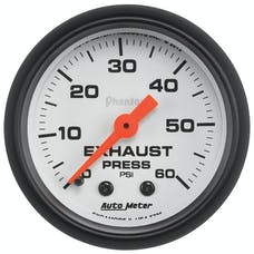 AutoMeter Products 5725 Phantom® Mechanical Exhaust Pressure Gauge