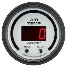 "AutoMeter Products 5758 Air Temperature Gauge, Dual 2 1/16"", 0-300Γö¼ΓòæF Digital, Phantom"