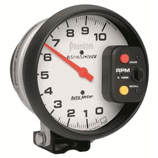 AutoMeter Products 5795 Tach W/Memory  10 000 RPM