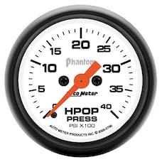 "AutoMeter Products 5796 2-1/16"" High Pressure Oil Pump Gauge  Phantom  0-4,000 psi"