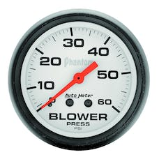 AutoMeter Products 5802 Blower Press  0-60 PSI