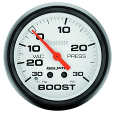 AutoMeter Products 5803 Boost/Vac  30 In. Hg/30 PSI