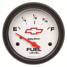 """AutoMeter Products 5814-00406 2-5/8"""" Fuel Level 0 E/ 90 F Electric"""