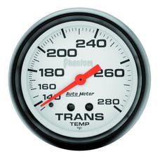 AutoMeter Products 5851 Phantom Mechanical Transmission Temperature Gauge 2 5/8 in. 140 - 280 Deg. F