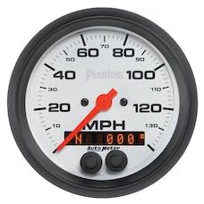 AutoMeter Products 5880 Gauge; Speedometer; 3 3/8in.; 140mph; GPS; Phantom
