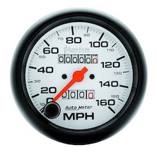 AutoMeter Products 5893 Gauge; Speedometer; 3 3/8in.; 160mph; Mechanical; Phantom