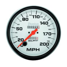 AutoMeter Products 5896 Gauge; Speedometer; 5in.; 200mph; Mechanical; Phantom