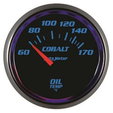 AutoMeter Products 6148-M 2-1/16in Oil Temp 60- 170`C, SSE  Cobalt