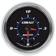 "AutoMeter Products 6185 2-1/16"" Clock, Cobalt"