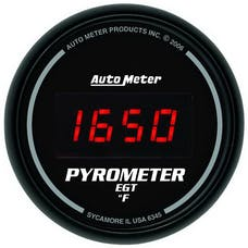 AutoMeter Products 6345 2-1/16in E.G.T. Pyrometer  Digital Black