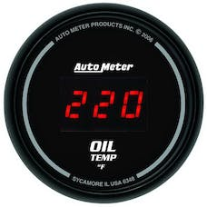 AutoMeter Products 6348 2-1/16in Oil Temp, 0- 400 F - Digital  Black