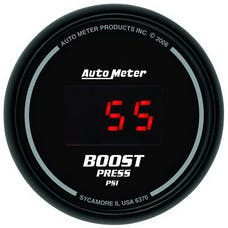 AutoMeter Products 6370 2-1/16in Boost, 0-60 PSI - Digital Black