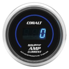 AutoMeter Products 6390 Gauge; Stereo Amp Current; 2 1/16in.; 250A; Digital; Cobalt