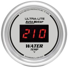 AutoMeter Products 6537 2-1/16in Water Temp, 0- 300 F - Digital Silver