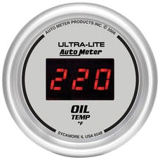 AutoMeter Products 6548 2-1/16in Oil Temp, 0- 400F - Digital Silver