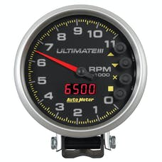 "AutoMeter Products 6888 5"" Ultimate Plus (Engine + Driveshaft). 11,000 RPM, Black"