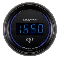 AutoMeter Products 6945 2-1/16in E.G.T. Pyrometer 0-2000 F Digital Black