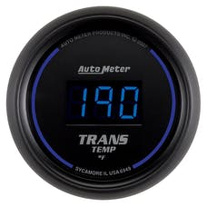 AutoMeter Products 6949 2-1/16in Trans Temp  0- 340 F Digital Black