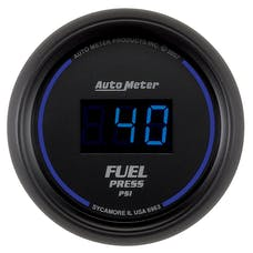 AutoMeter Products 6963 2-1/16in Fuel Pressure  0- 100 PSI  Digital Black