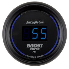 AutoMeter Products 6970 2-1/16in Boost 0-60 PSI Digital Black