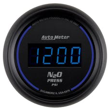 AutoMeter Products 6974 2-1/16in NITROUS, 0-1600 PSI, DIGITAL, BLACK