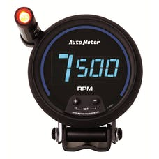 AutoMeter Products 6999 3-3/4in Tach Mini-Monster Digital Black