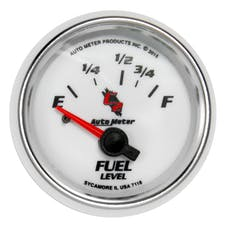 "AutoMeter Products 7118 Fuel Level Gauge 2 1/16""  Electric C2 16E - 158F"